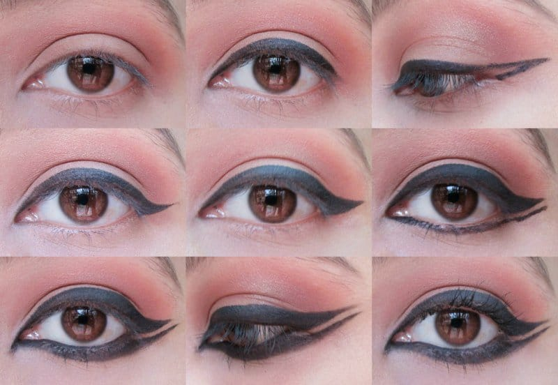Winged Eyeliner: Step-by-step 6