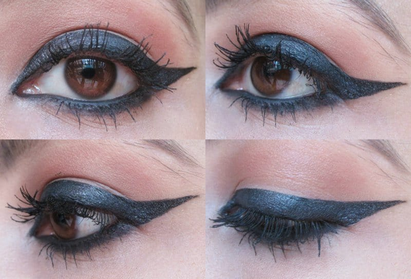 Winged Eyeliner: Step-by-step 9