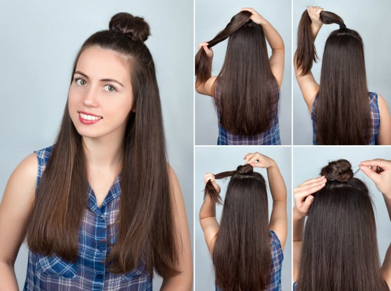 Easy Hairdos for College girls 7