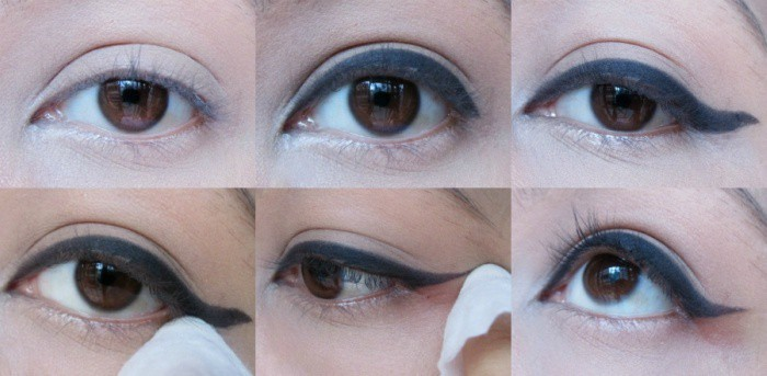5 Hacks and Tutorials for Perfect Step-by-Step Winged Eyeliner 2