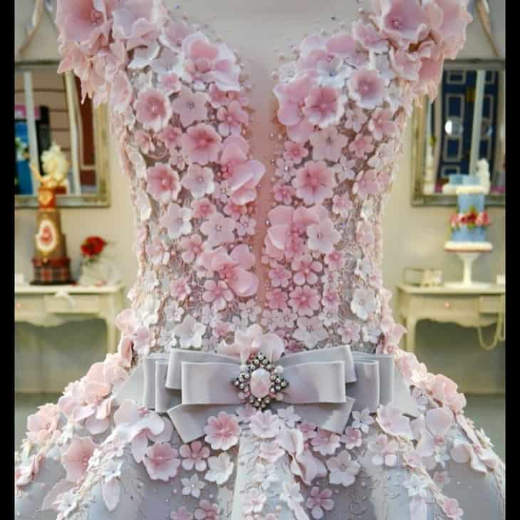 If it's not a wedding dress, then what is it? 4