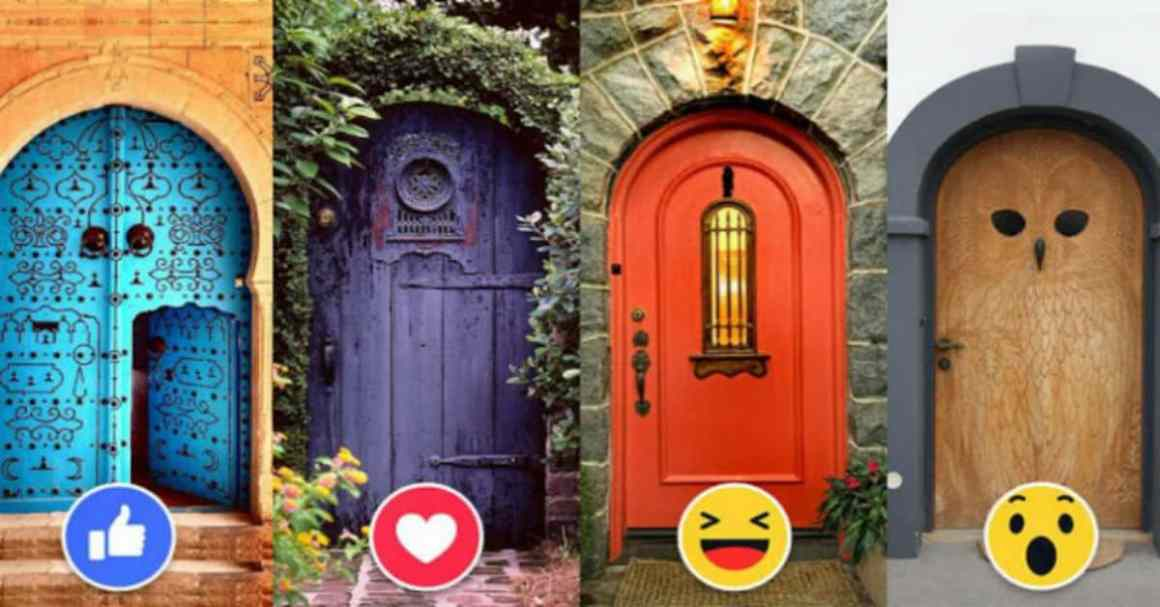 Which Door Will Bring Happiness To You? 1