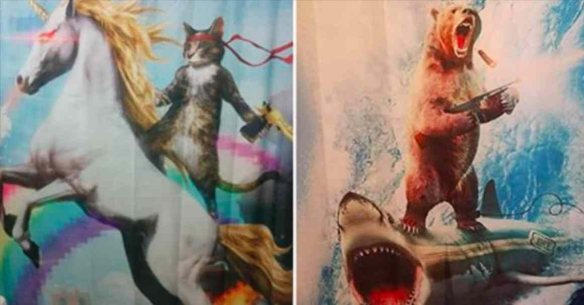 15 People Whose Shower Curtains Will Make You LOL 1