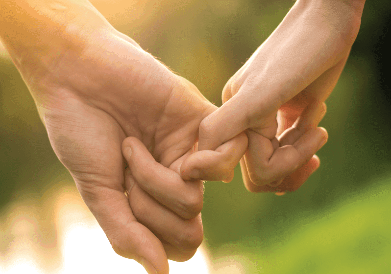 Holding hands can speak a lot about your relationship. 5