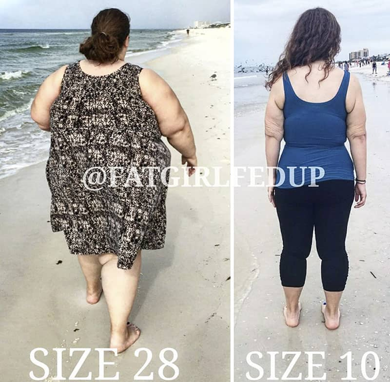 The spectacular transformation of a lady weighing 500 lbs- look at the recreational photos yourself! 11