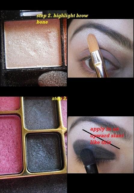 copper eye makeup tutorial (5)