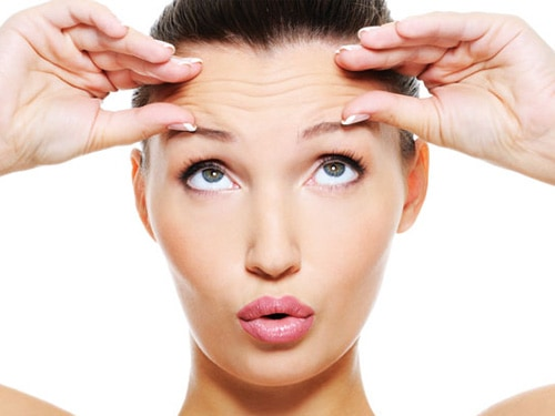 Image result for zig zag massage on forehead