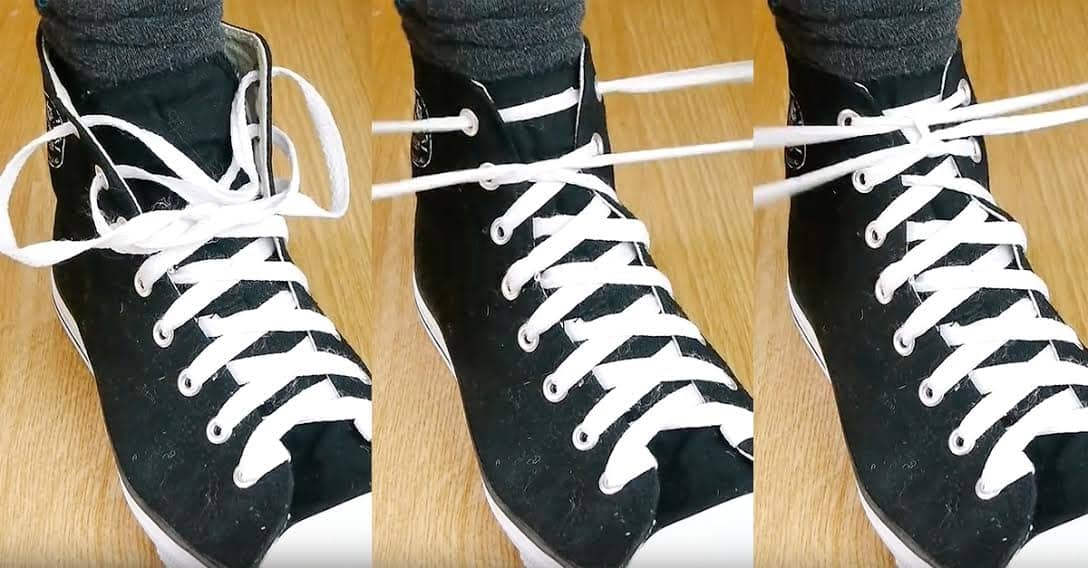 This Ridiculously Simple Way To Tie Your Shoes Will Completely Change Your Life 1