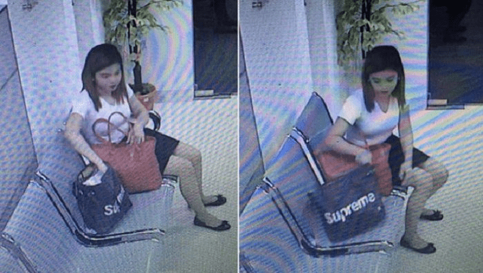 Woman Gets Shocked To See The CCTV Footage And The Thief Of Her Phone 2