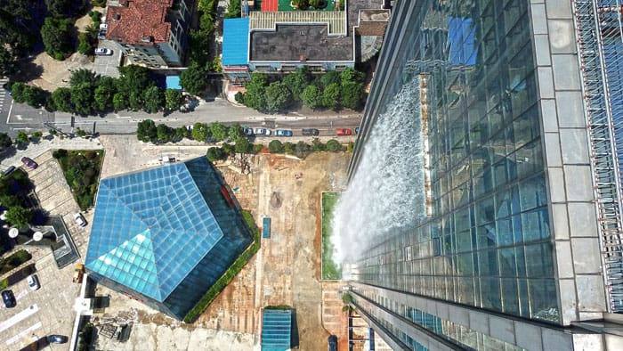 Chinese Built A Huge Human-Made Waterfall In Guiyang 10