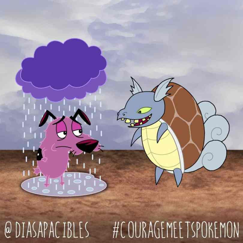 The Situation When Pokemon Meets Courageous The Cowardly Dog 9