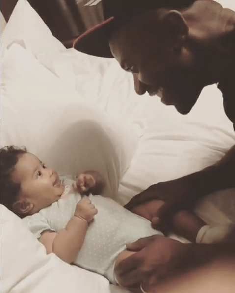 7 Best Family Photos Of Ray J Along With His Wife Love And Daughter Melody 7