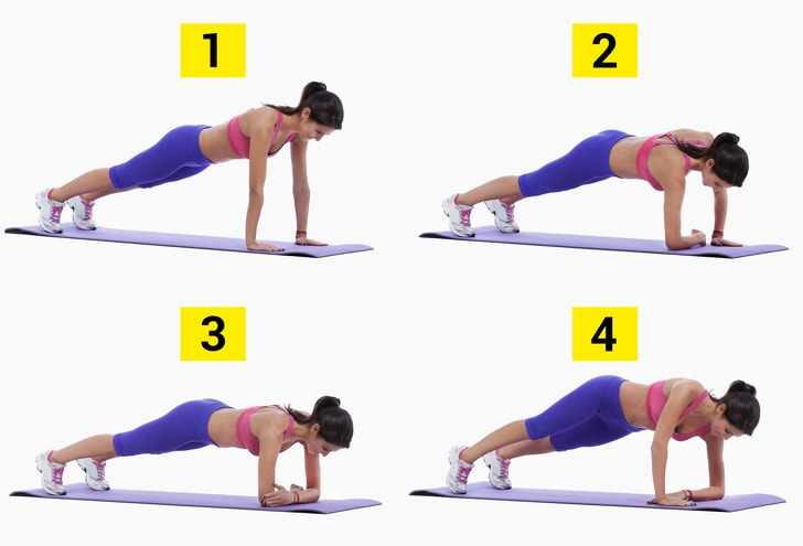 3 Weeks Plank Exercise That Will Bring Perfection In Your Body By Beating Belly Fats 5