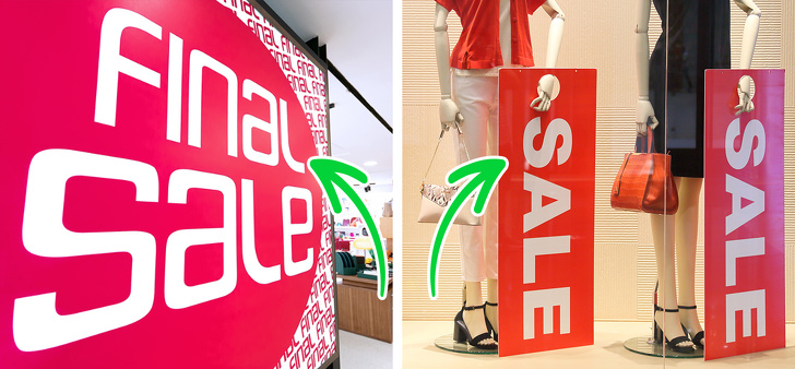 6 Best Tricks Used By Fashion Stores That Make Us Spend More Money 1