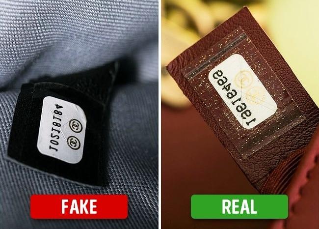8 Tricks You Can Spot Fake Designer Handbag 5