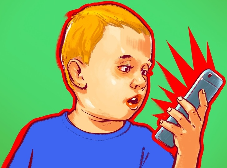 9 Worst Warnings That Says What Happens To A Child If They Spend Much Time On the Smartphone 5