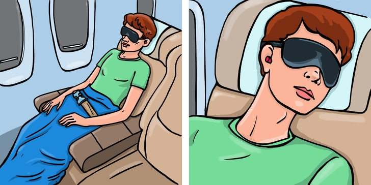 6 Best Ways To Travel Comfortably During A Long Journey Of the Flight 5