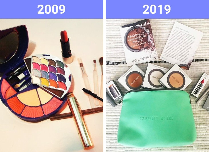 The Beauty Trends Of 10 Years Challenge Have Changed 11