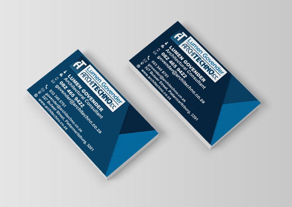 Architechno Business Card Design