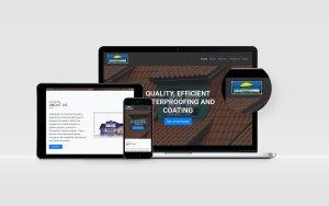 Amanziproofing Website Design By BluSilva
