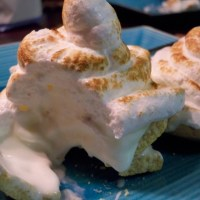 lemon meringue ~ ice cream