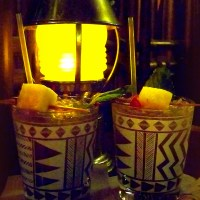 Trader Vic's ~ old school tiki style