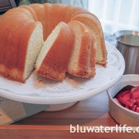 cold oven pound cake ~