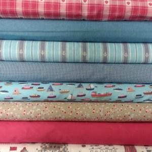 "Westfalenstoffe ""Sylt"" Seaside Themed Fabrics"