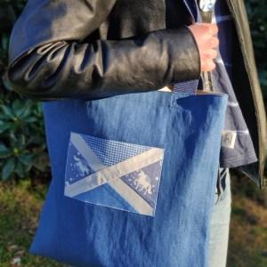 Patchwork Saltire Bags