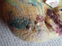 seashore felt bag wool silk shells blythwhimsies 6