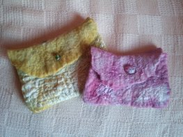 kindle cover and mobile phone cover hand felted hand dyed blythwhimsies 2016-01-18 14.53.29