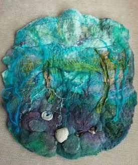 rockpool seashore southwold felt art blythwhimsies 2016-04-14 13