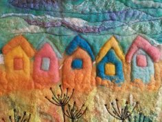 Southwold Beach Hut Felt Wall Hanging blyth whimsies 2 2016-05-17 10.55.06
