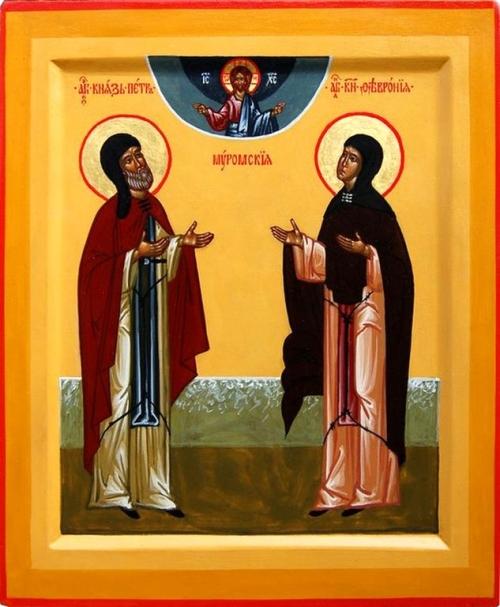 Восьме липня — православне свято кохання. День святих Петра і Февронії