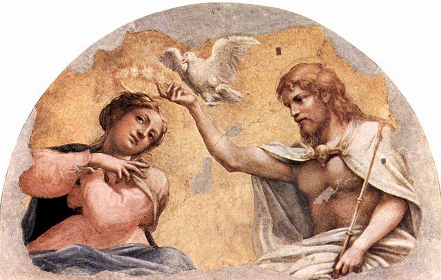 Святий Дух сходить на Марію (Коронування Марії)