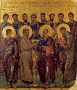 Собор святих славних і всехвальних 12 апостолів Христових