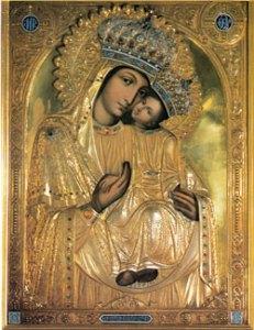 """Ікона Божої Матері """"Споручниця грішних"""" (Корецька)"""