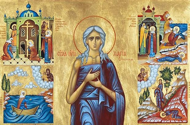 Великий покаянний канон св. Андрія Критського. Маріїне стояння