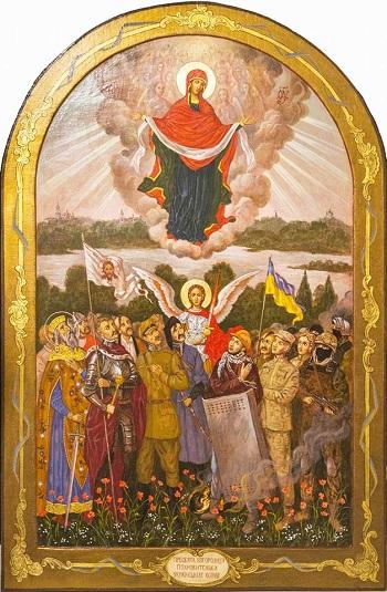 """Освячено ікону Богородиця """"Воїнська"""""""