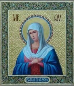 """Ікона Божої Матері """"Радість всіх радостей"""""""