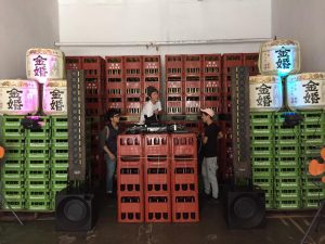 豊島屋酒造 Momtree2ndanniversary DJ