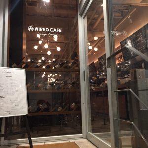 WIRED CAFE Dining Loungeアトレヴィ五反田店 五反田 電源カフェ