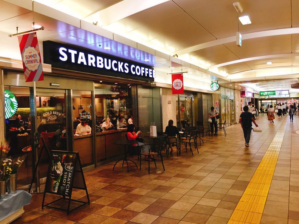 亀戸 電源カフェ スターバックスコーヒー アトレ亀戸店