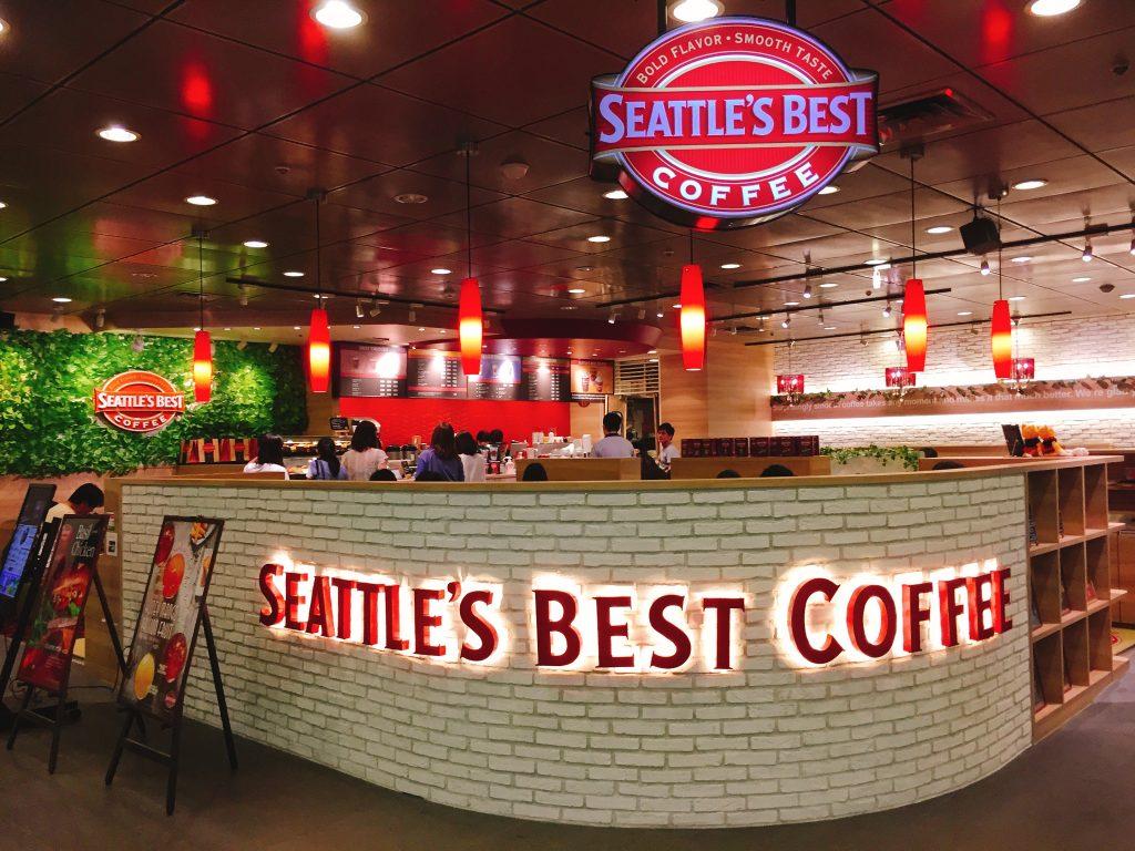 池袋駅東口 電源カフェ SEATTLE'S BEST COFFEE (シアトルズベストコーヒー) 池袋サンシャイン60店