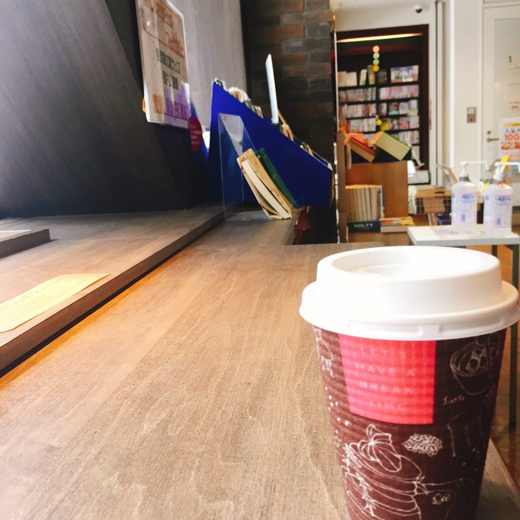 カフェ ドリンクテイクアウト カップデザイン Paper Back Cafe
