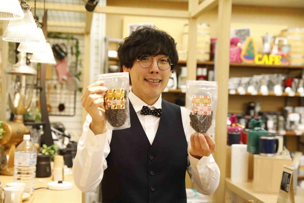 コーヒールンバの平岡 佐智男さん