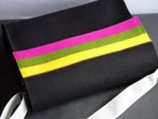 """Umhängetasche, Modell """"Lucky Stripes"""" von bm-manufakt"""