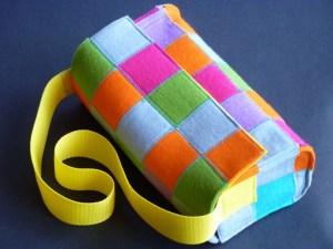 "Handtasche Modell ""squares"""