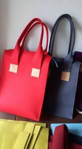 Schicke Shopper – in vielen Farben