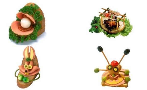 Смешные бутерброды (15 фотографий)